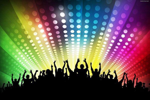 Regenbogenfarben Konzert