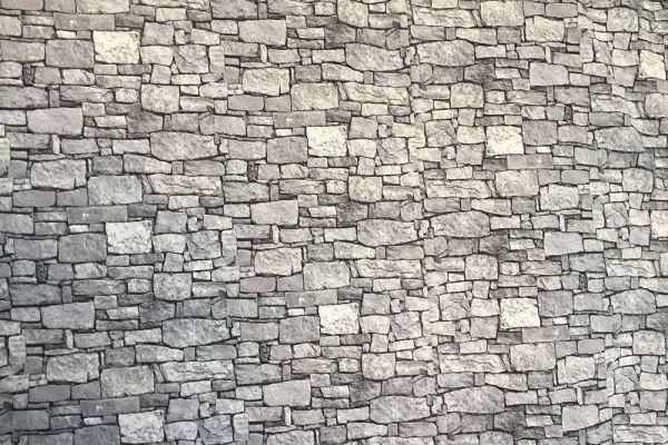Steinmusterwand